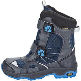 Jack Wolfskin Polar Bear Texapore Stivali Bambino grigio/blu